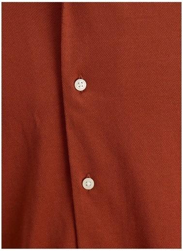 Jack & Jones Jack & Jones Erkek Açık Bordo Gömlek Bordo